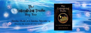 The Unforgiving Truths Blog Tour Banner