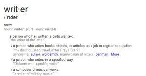 writer definition