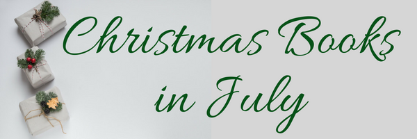 Christmas Books in July banner